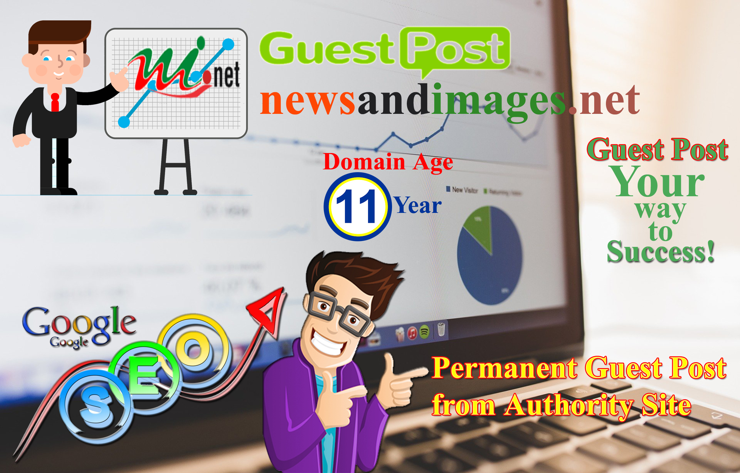 I Will Publish a Guest Post on newsandimages. net