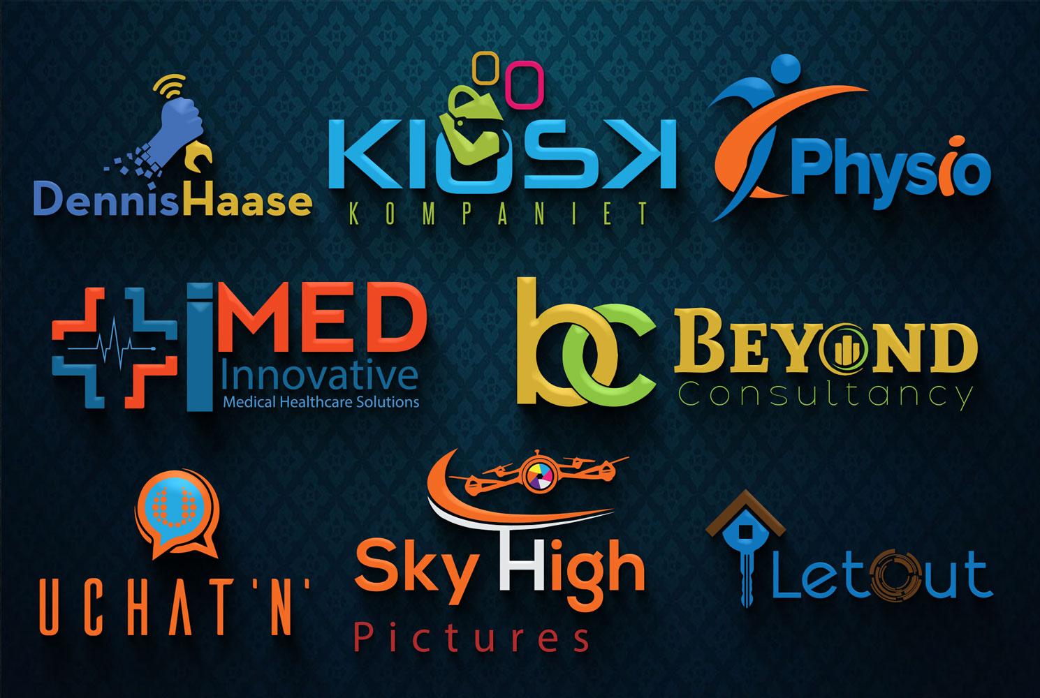 design creative business logo for you