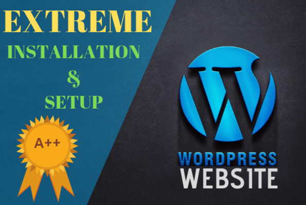 Wordpress Website,  Setup And Installation