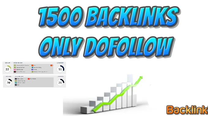 Provide 1500 Do-Follow Backlinks best for Your Keyword Ranking and seo