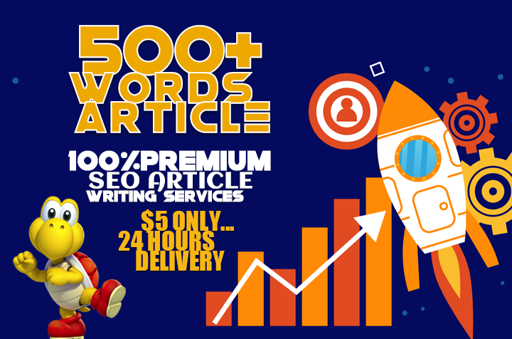 Write 500 Words SEO Optimized Article