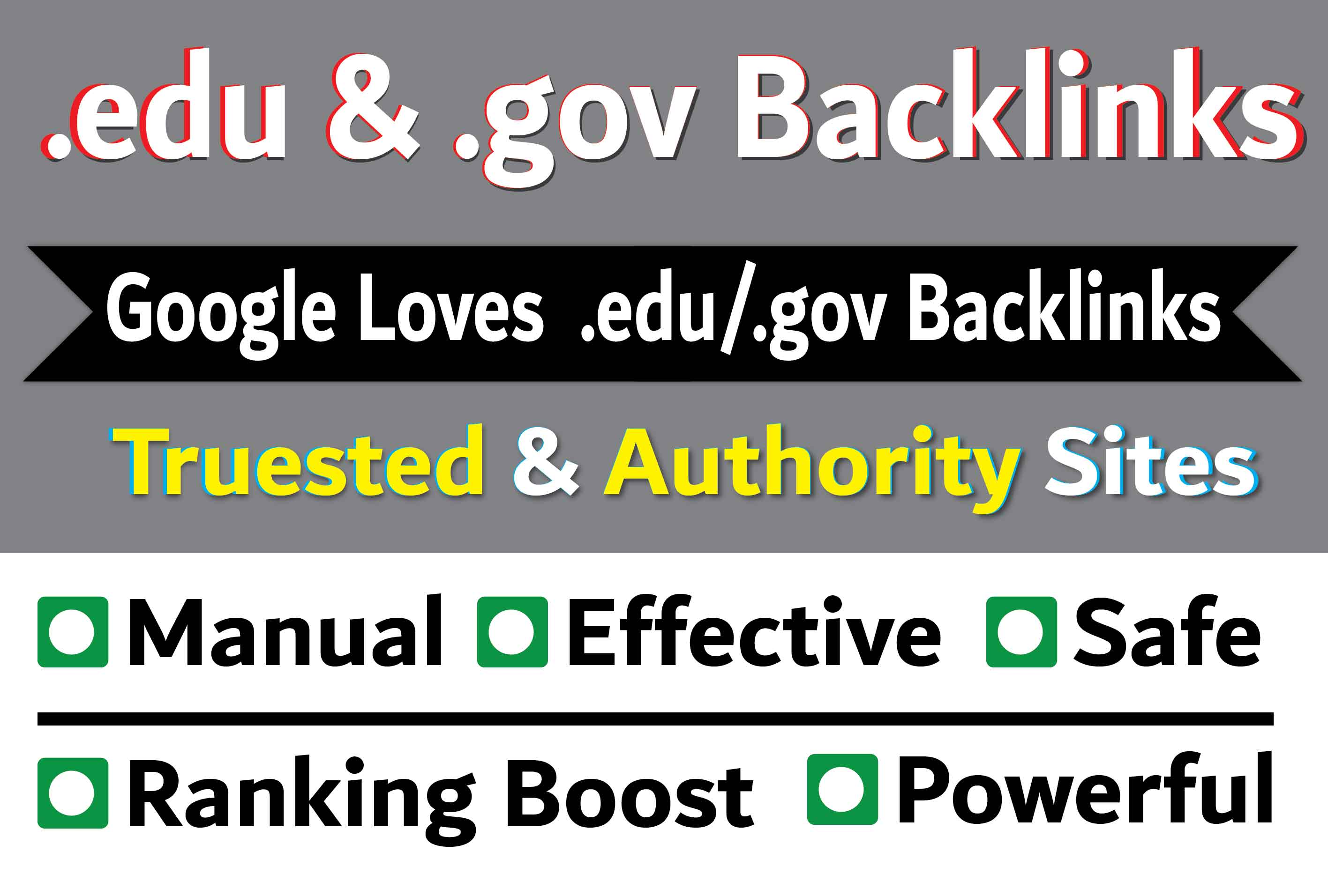 Top 22 Authority Edu or Gov Backlinks for your website or video Ranking on google 1