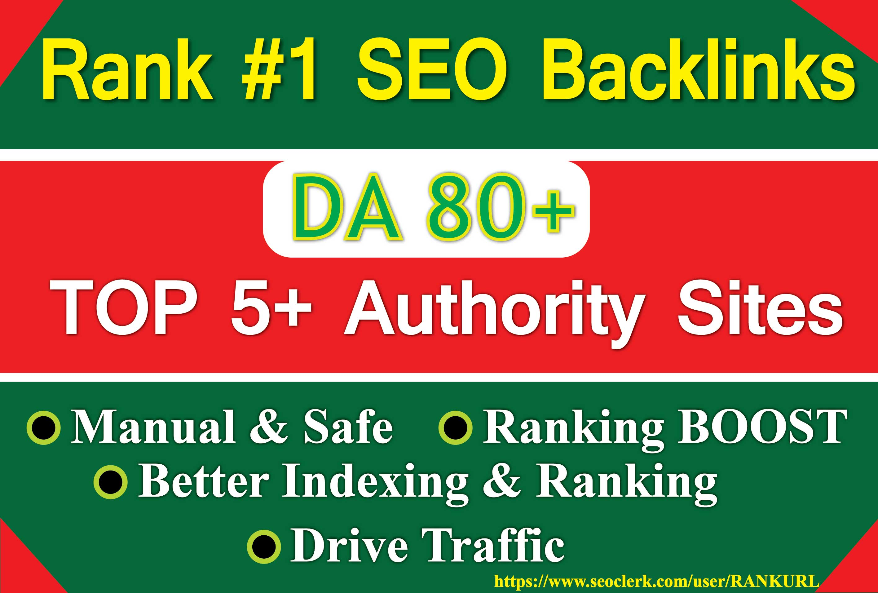 Boost your Website or Brand 30 SEO Backlinks by 5 Top Authority Sites- Bookmarking,  SEO Signals