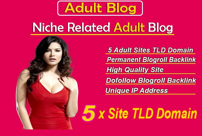 give link 5 site adult tld blogroll permanent