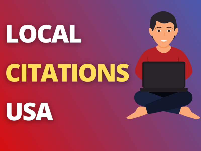 You will get 300 USA Citations for Local SEO USA in 4 Days