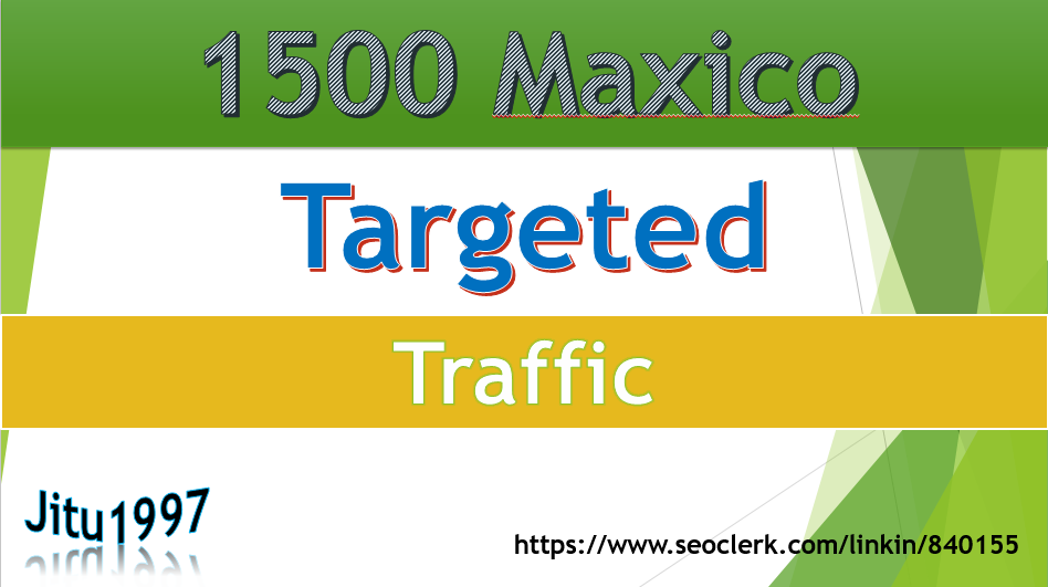 1500 TARGETED Human traffic to web or blog site and get google alexa rank