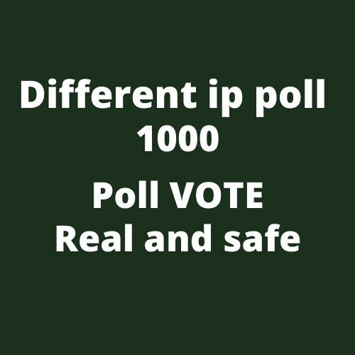 Must Get 1000 Different IP Votes On Your Online Voting