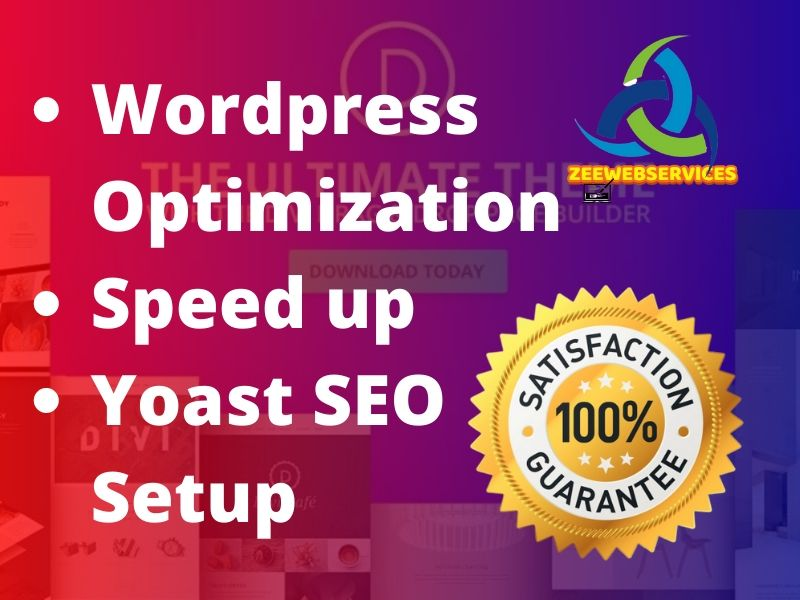do wordpress website speed optimization and yoast onpage SEO