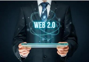 I will do 10 high da pa authority web 2.0 dofollow backlinks