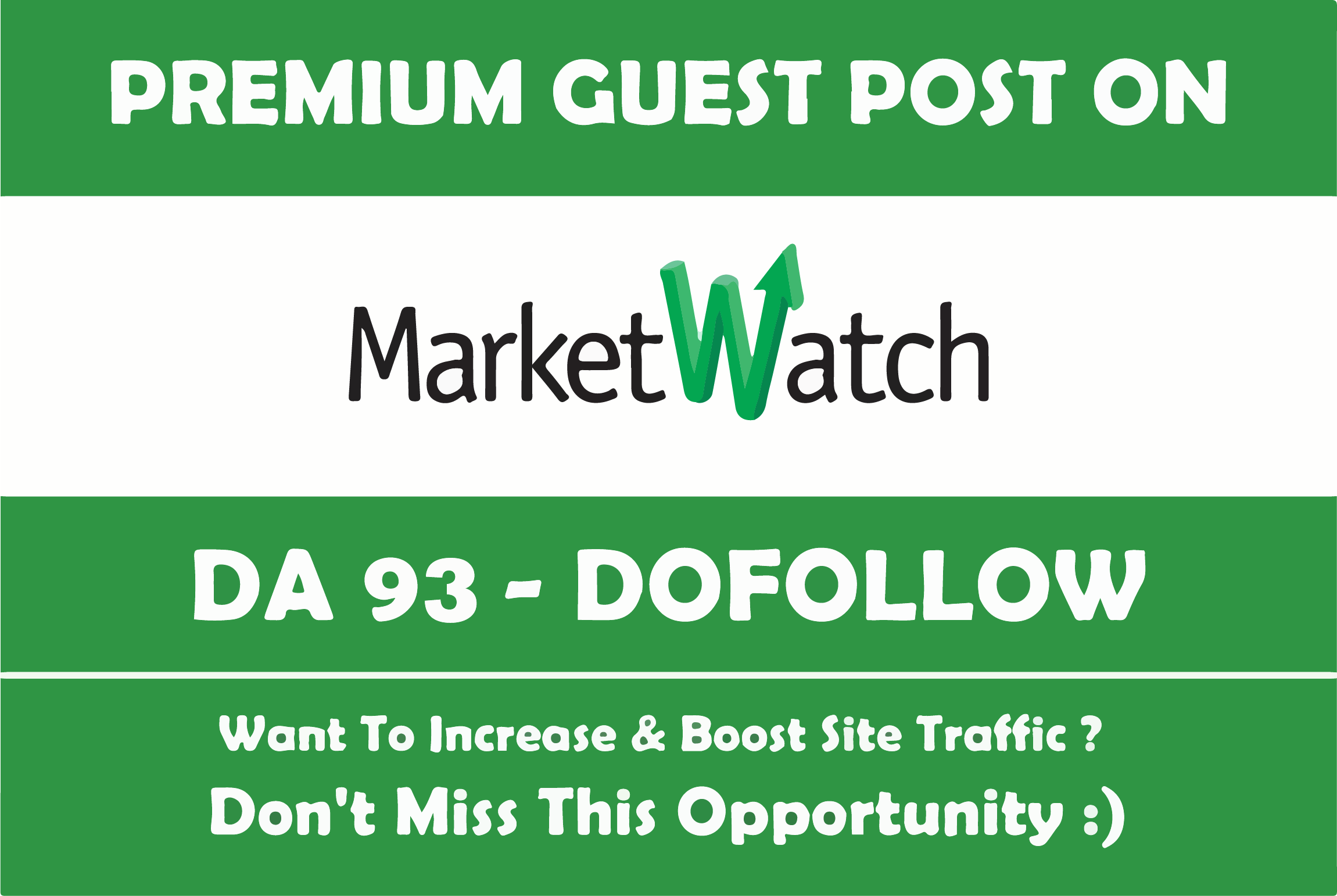 Only For Few Days Limited Time Offer On Marketwatch. com DA93 Blog