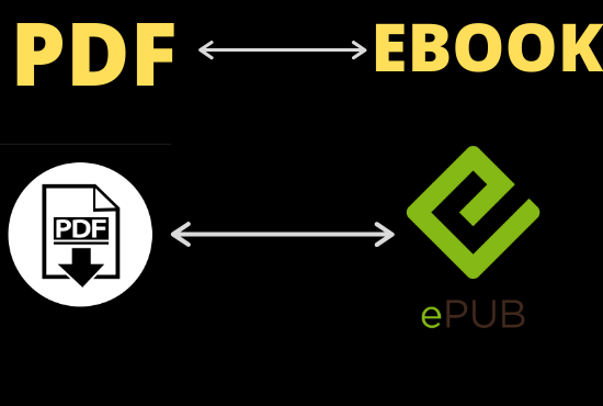I will Convert your Pdf / Word Into Epub / Ebook For amazon Kindle and other