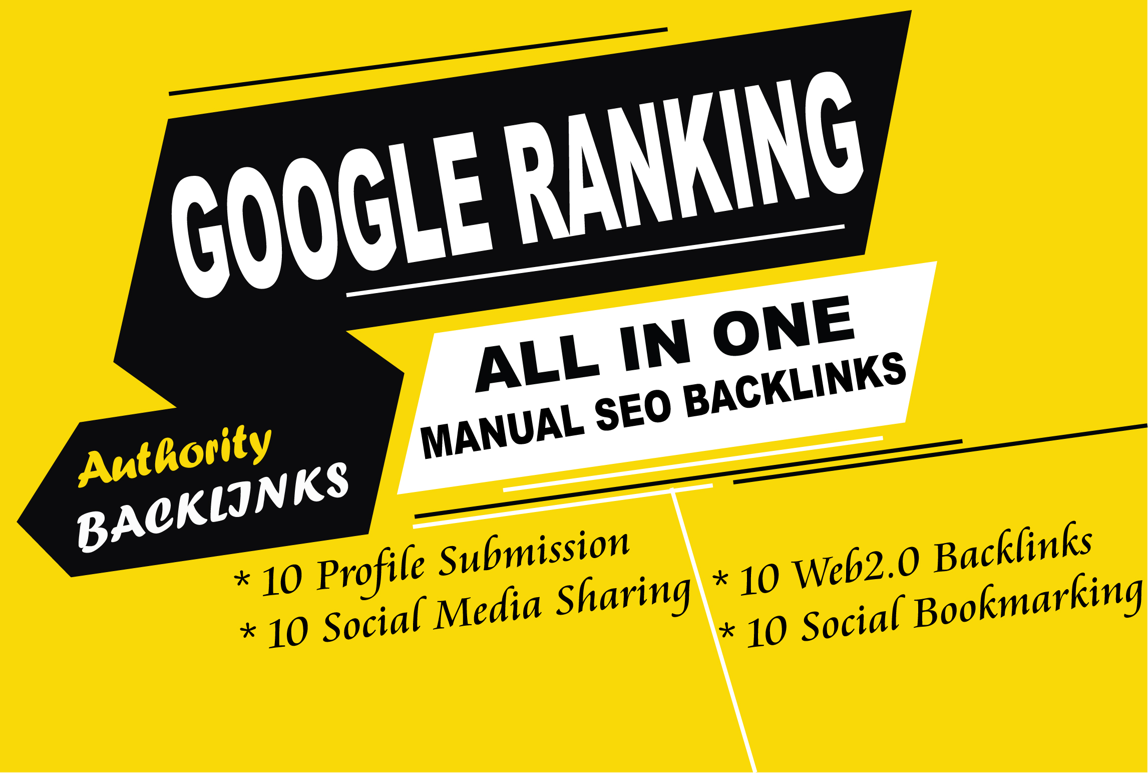 All in one high authority seo quality backlinks