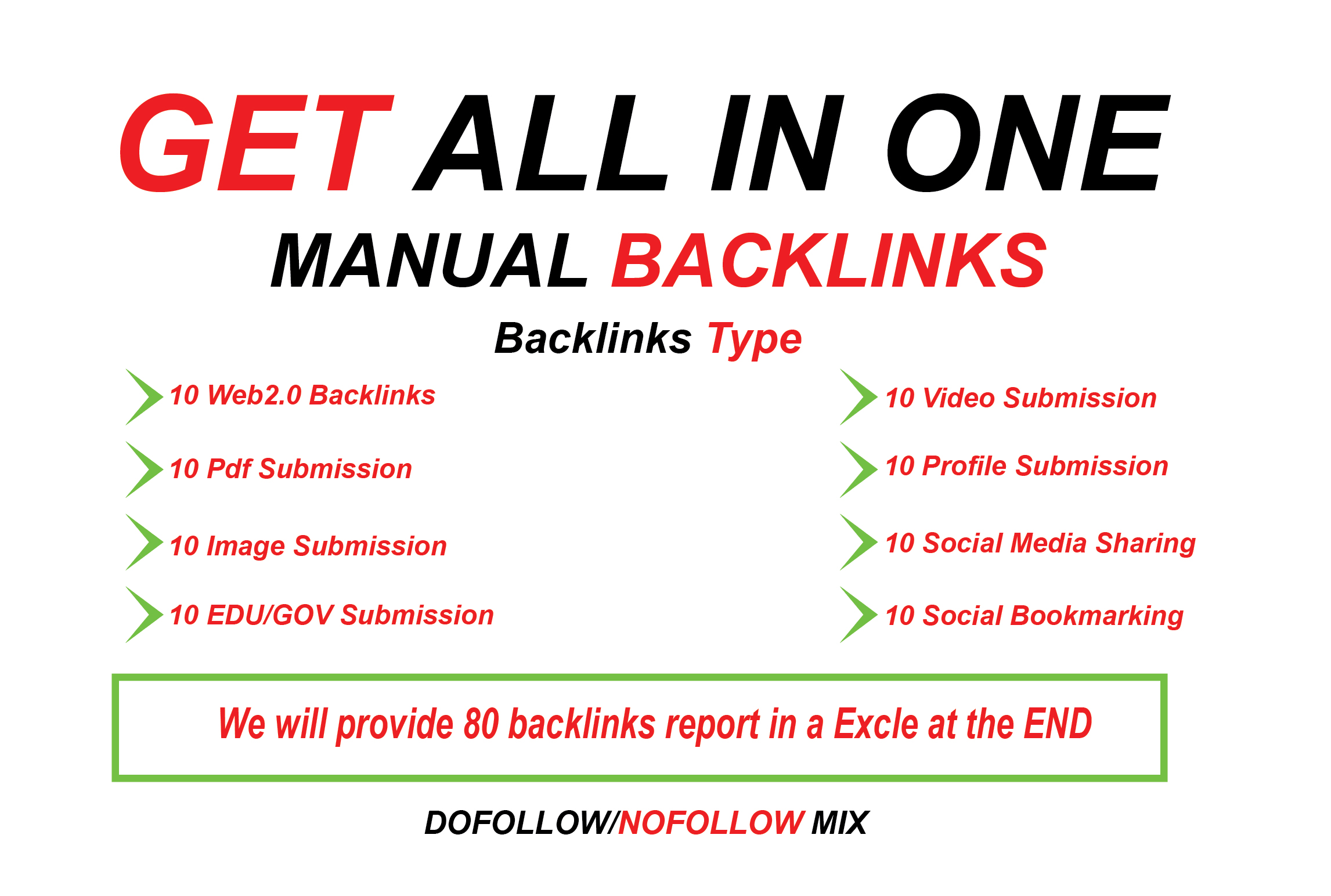 Manually All In One Premium SEO Package boost Your Ranking