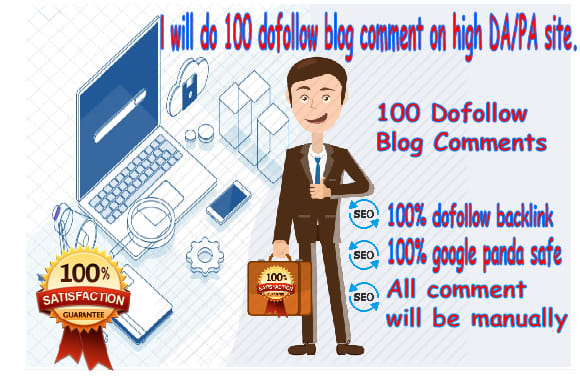 I will do 25 high quality blog comments backlinks