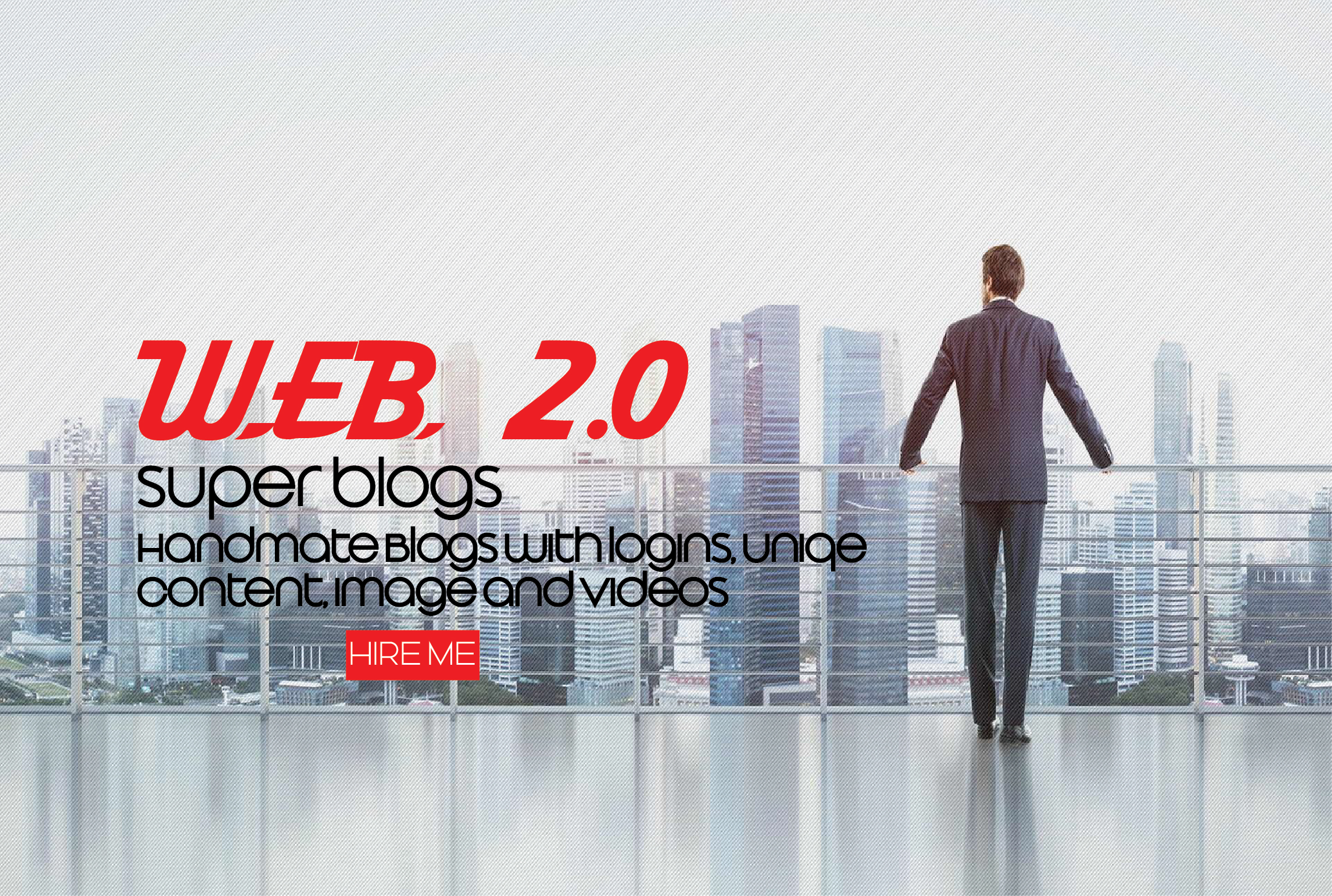 I will create 10 web 2.0 super blogs with login
