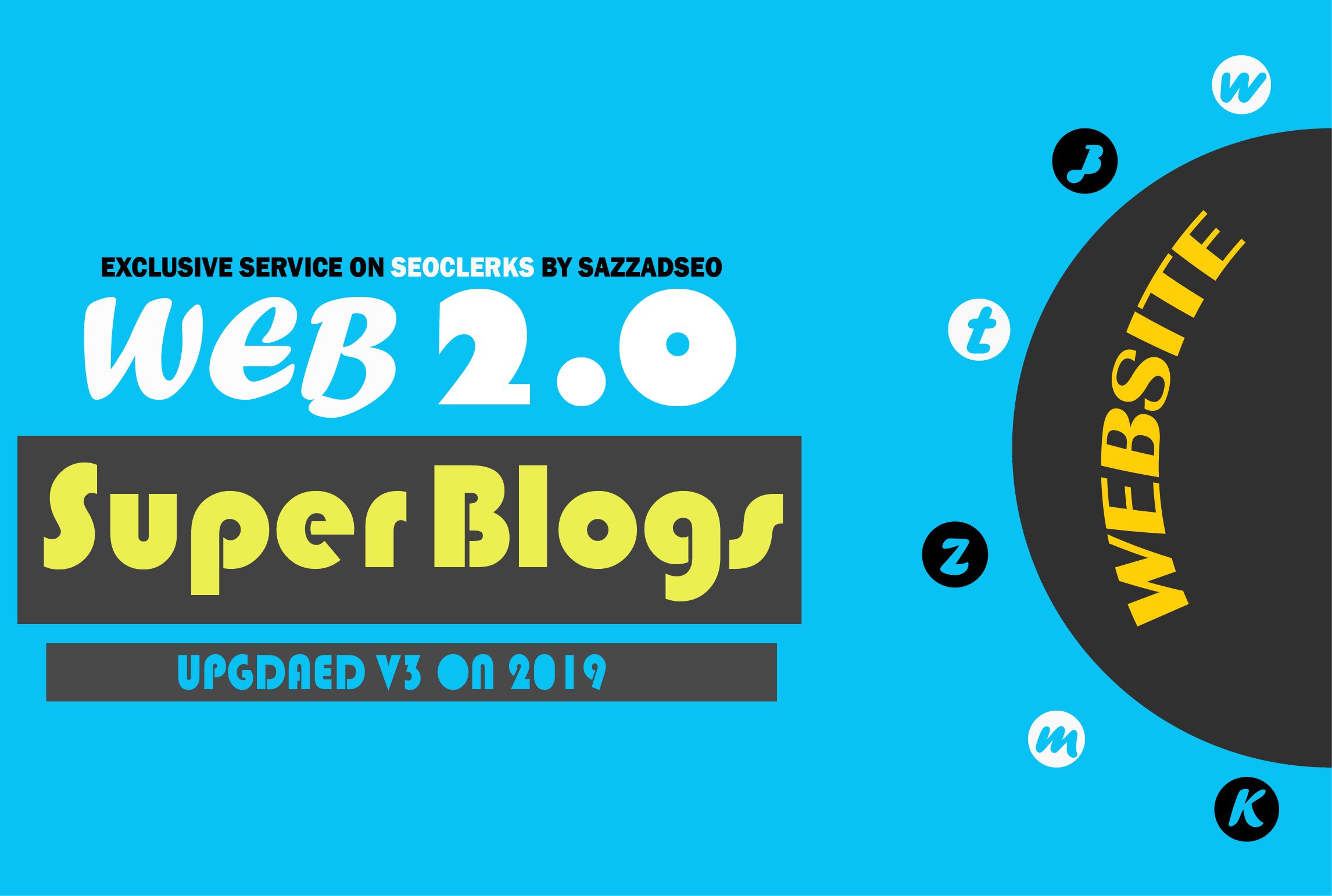 I will create 5 web 2.0 super blogs with login