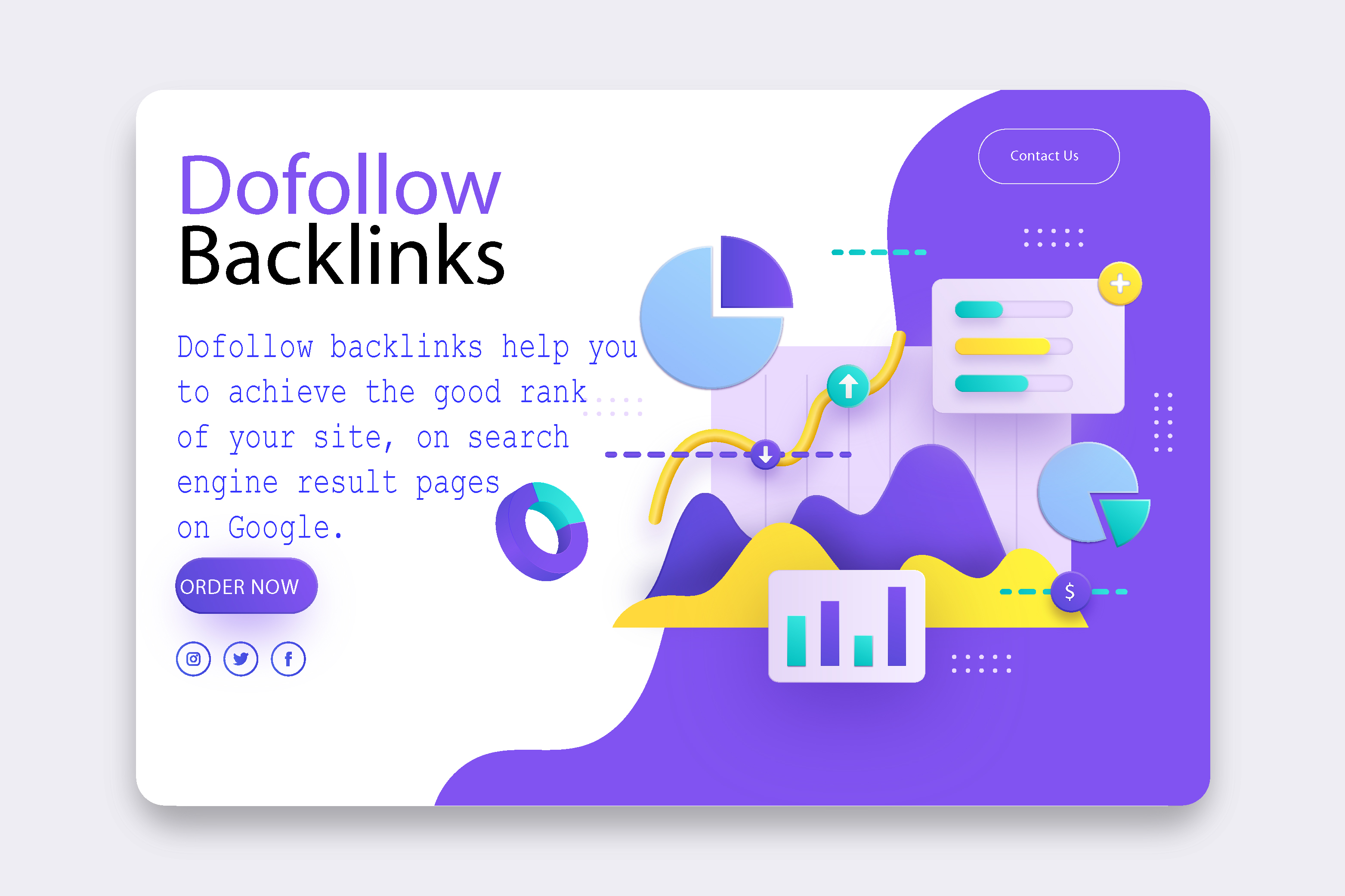 I will build high quality dofollow backlinks SEO link building