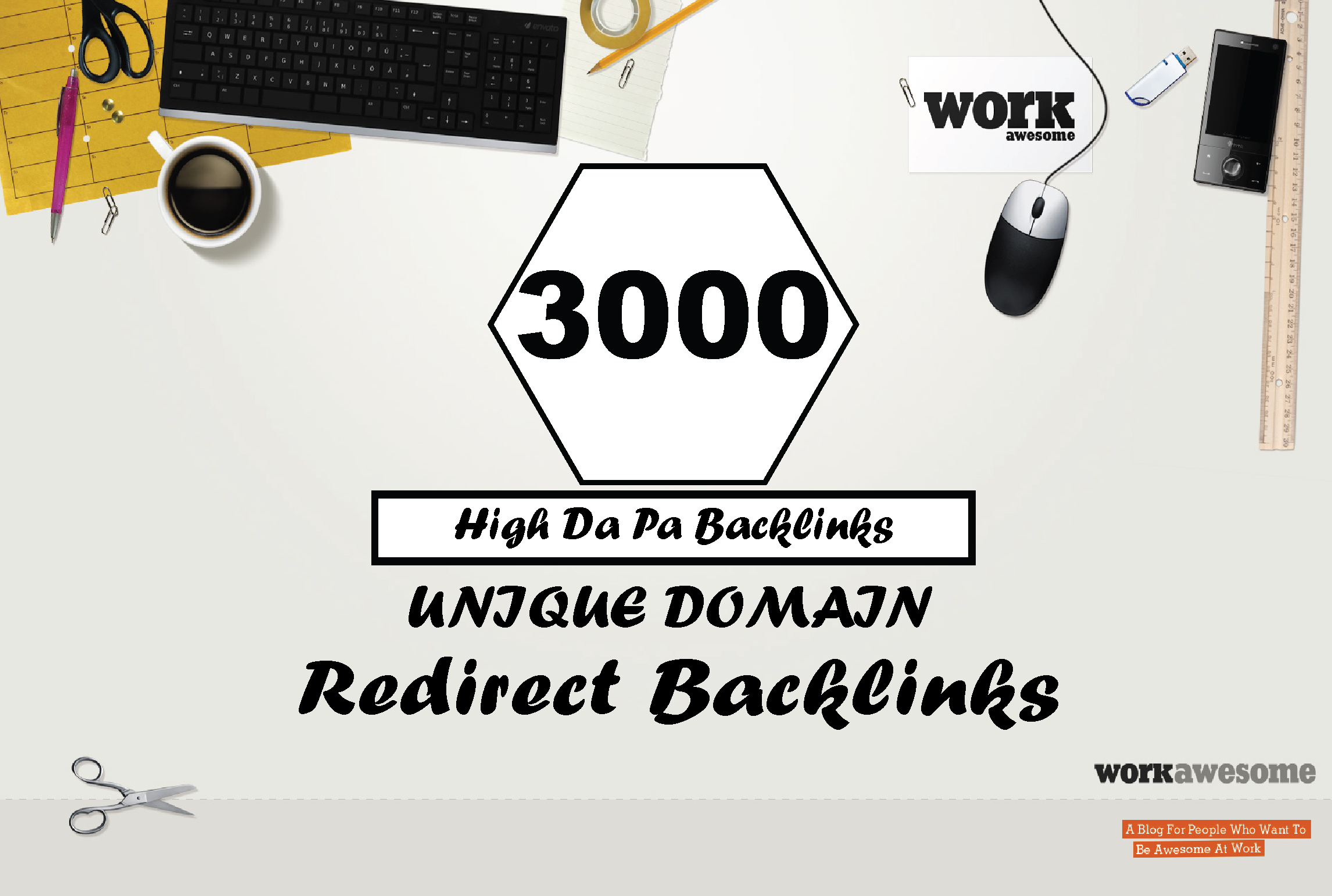 High Authority Manual 3000 Unique Domain Redirect Backlinks