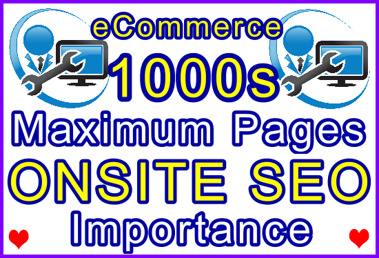 Unlimited eCommerce Pages Onsite SEO Importance Setup