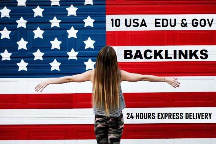 Build 10 USA Based EDU/GOV High Authority SEO Backlinks