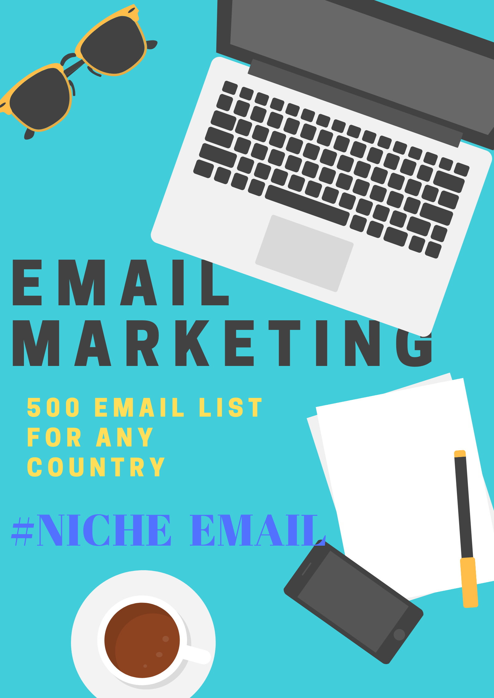 I Can Find Out Targeted Niche Active And Valid Email Lists For Email Marketing.
