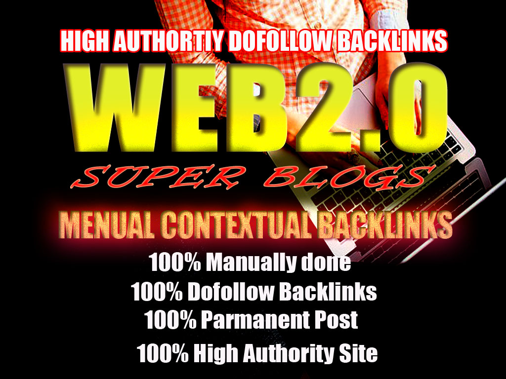 10 Handmade Super Web 2.0 blogs with login Dofollow SEO Backlinks