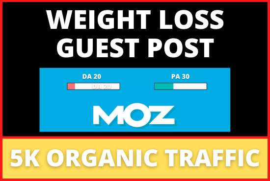 Guest Post On DA 20 Real Weight Loss Blog
