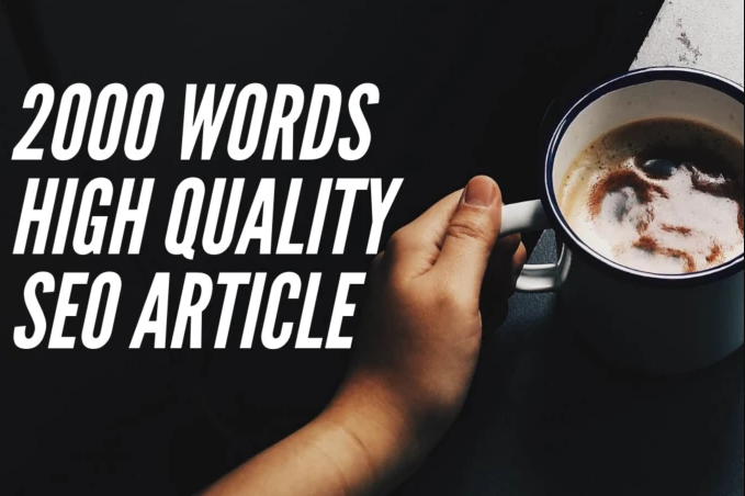 2000 High Quality SEO Friendly Article Or Blog Post