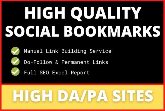 Manually Create 25 Social Bookmarks For Traffic Boosting