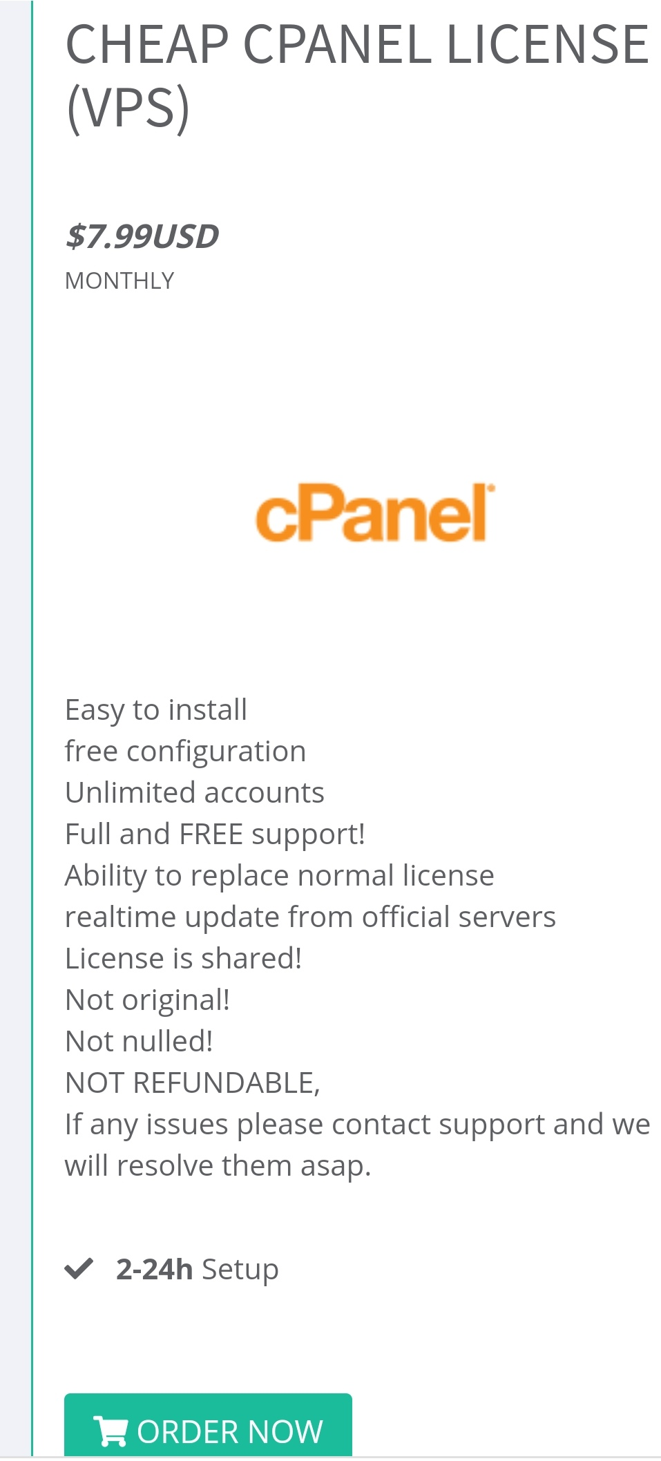 Cheap Cpanel License,  Unlimited Accounts