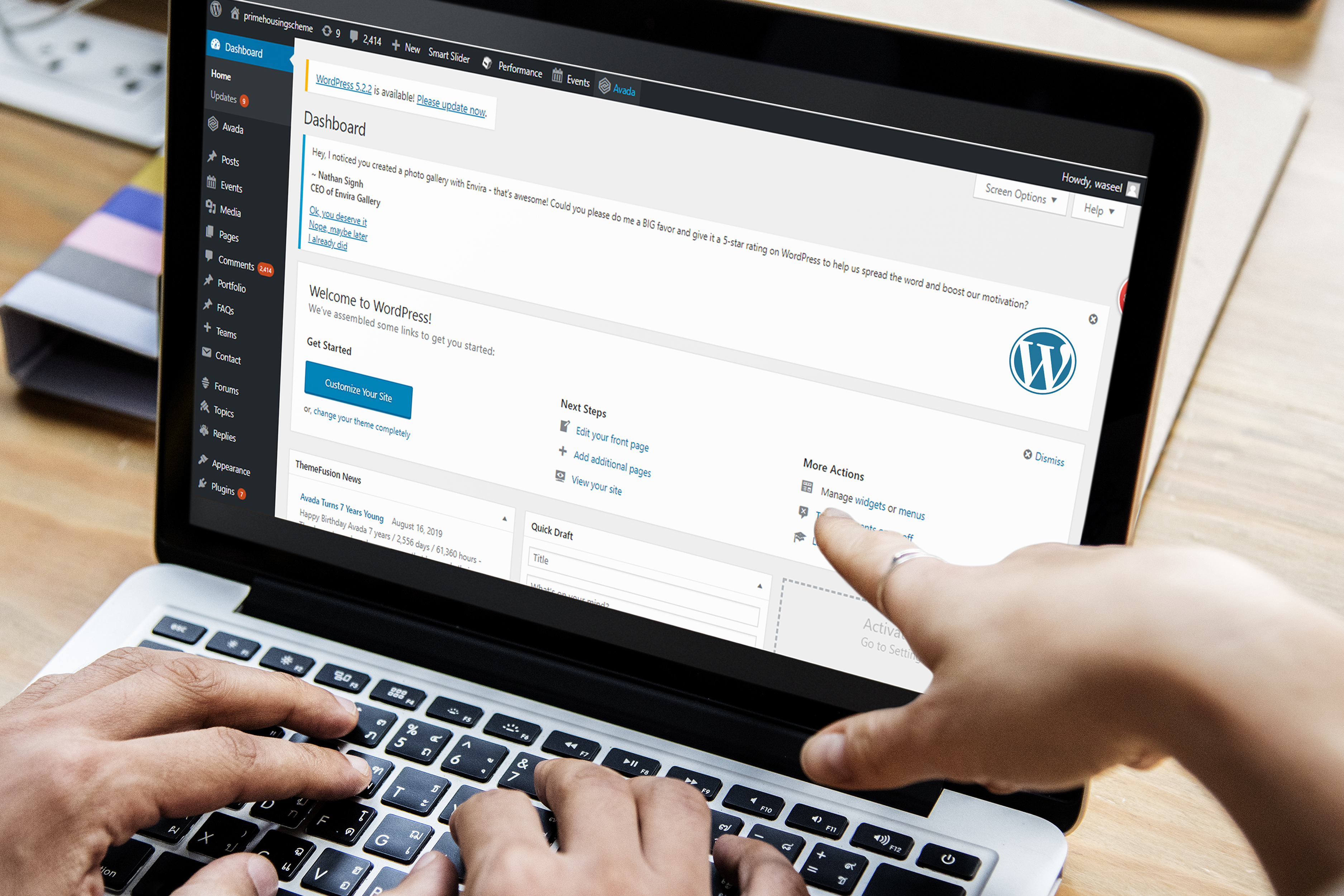 Create Any Type Of WordPress Site for you