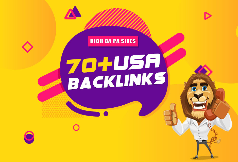 Build 70+ High Authority USA Backlinks for Boost your Rank