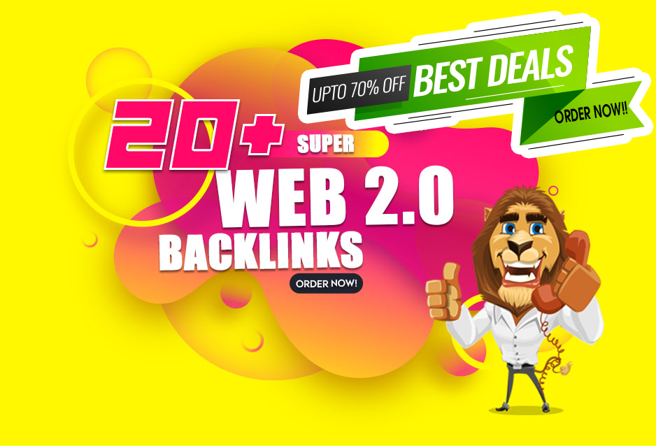 Boost your Ranking With 20 Premium Web 2.0 SEO Backlinks
