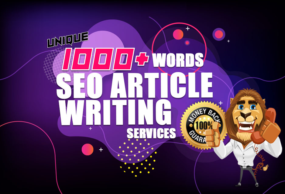 Premium Quality SEO Optimized 1000 Word Article Writing Service