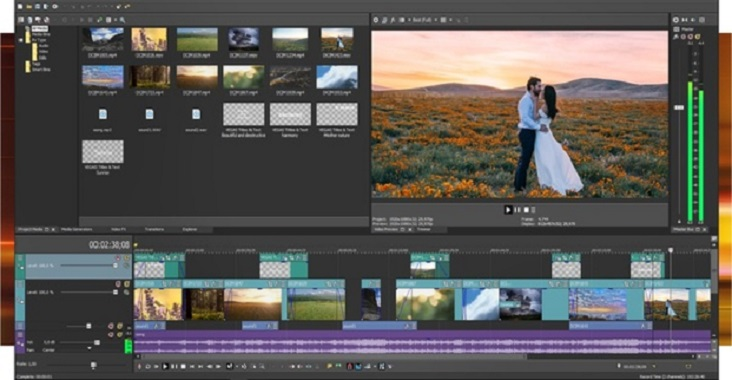 Professional amazing video editing