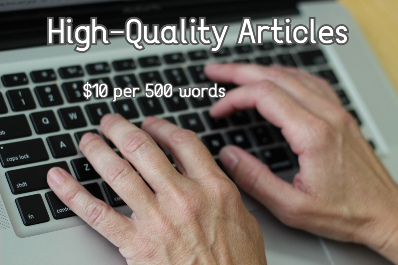 Get high-quality articles at a fair rate