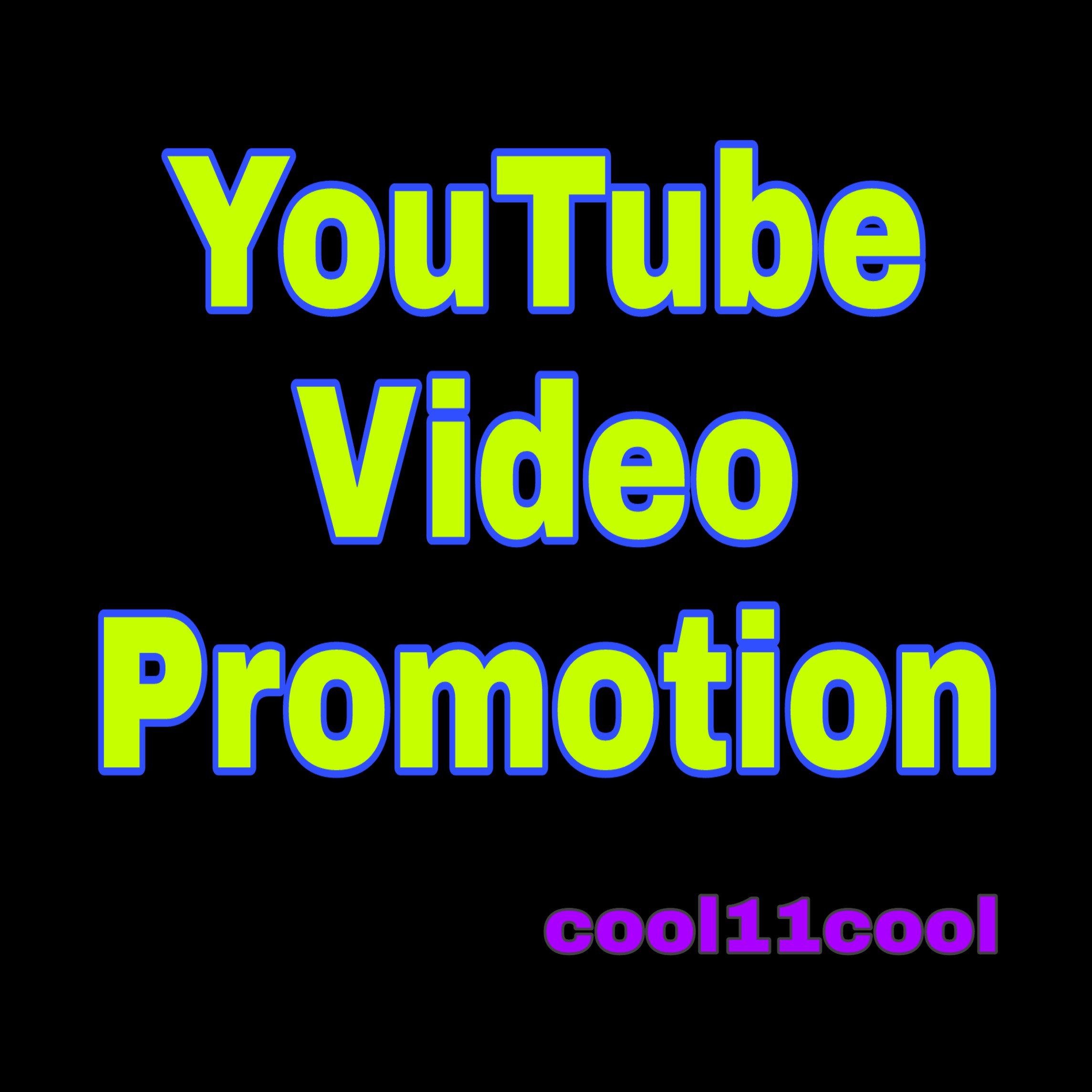YouTube Video Promotion And Social Media Business