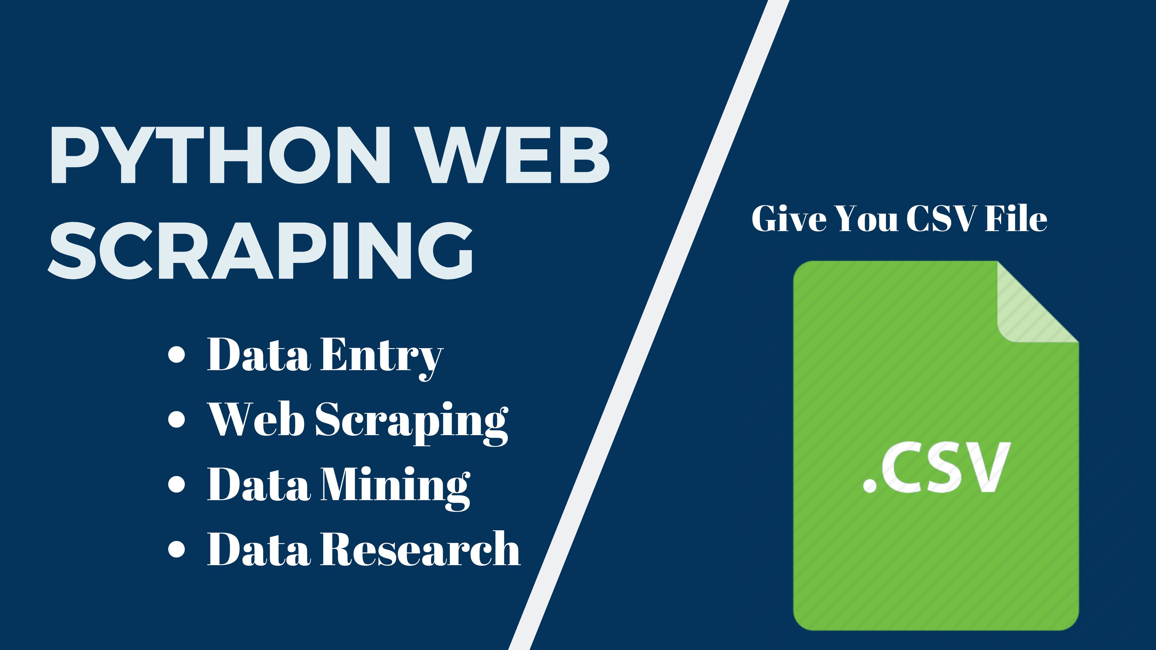 Web Scraping 500+ Lines Data Entry From Any Websites Using Python