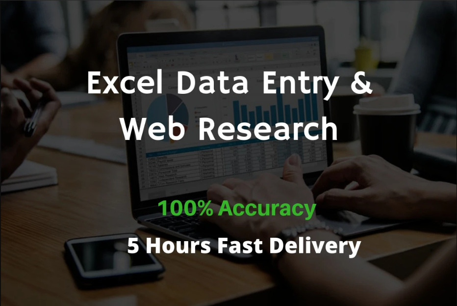Do Excel Data Entry And Web Research Professionally