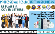write rewrite job winning resume, cv and cover letter