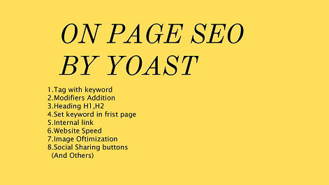 Do complete onpage SEO Optimization