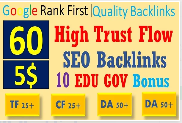 Provide Titles And Tags To I will do 60 high trust flow backlink, high tf cf liOptimize Etsy Shop SEO