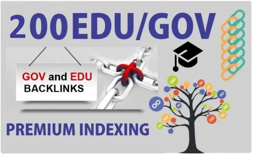200 EDU/GOV High Authority Dofollow Backlinks
