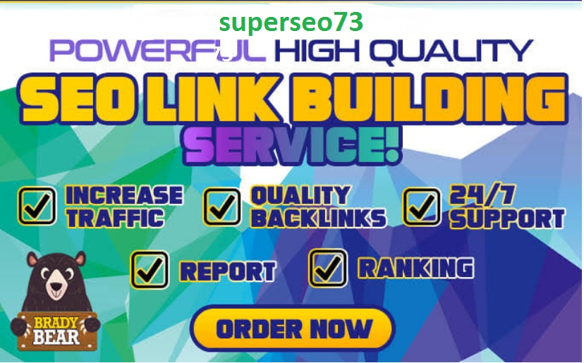 do powerful quality SEO link building service