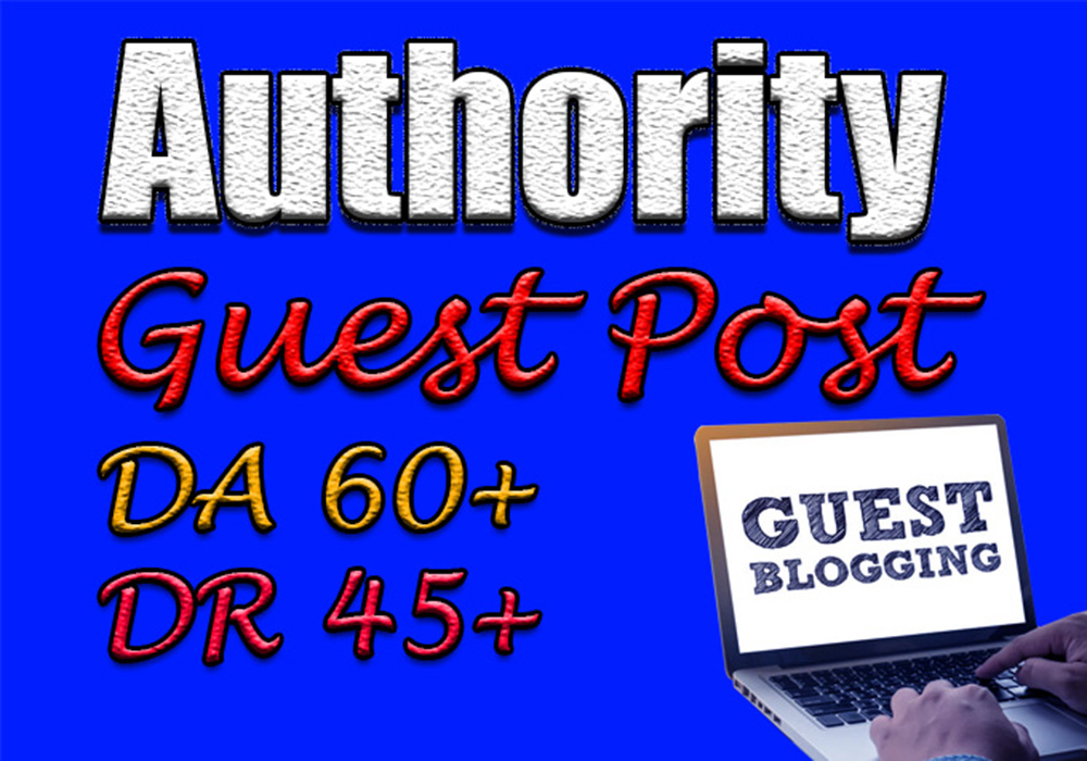 Submit 5 authority guest posts on trusted websites to boost your google ranking