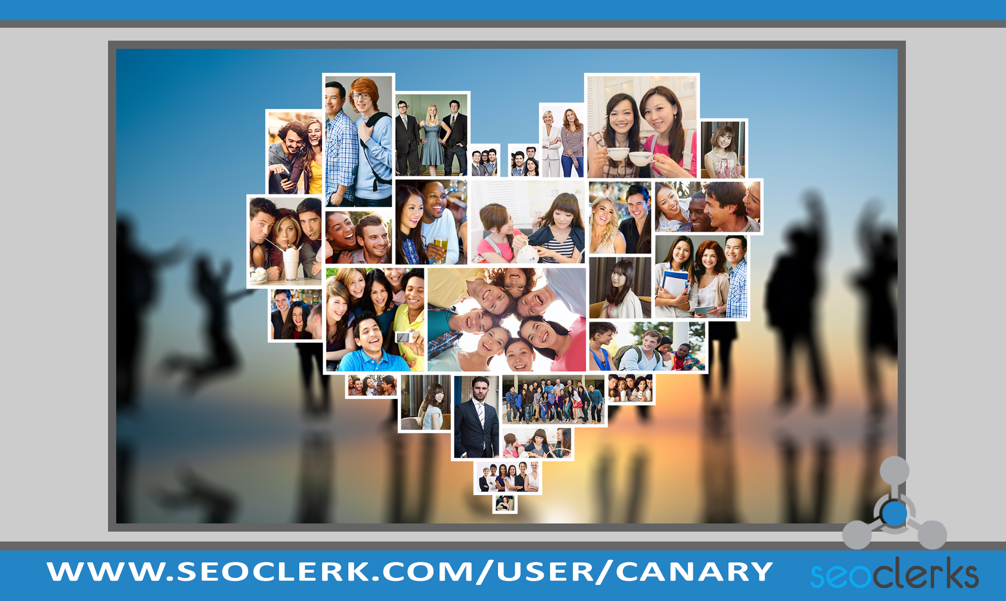 I will create awesome photo collage from your photos
