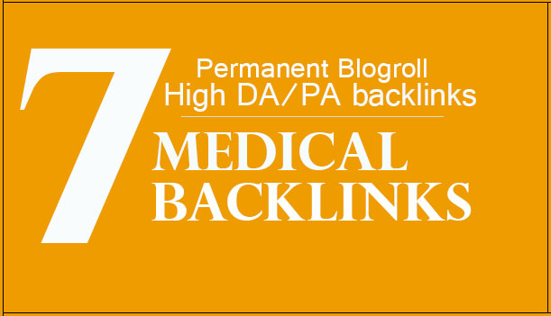 Give Your Backlinks On 7xDA60 MEDICAL Blogroll Permanent