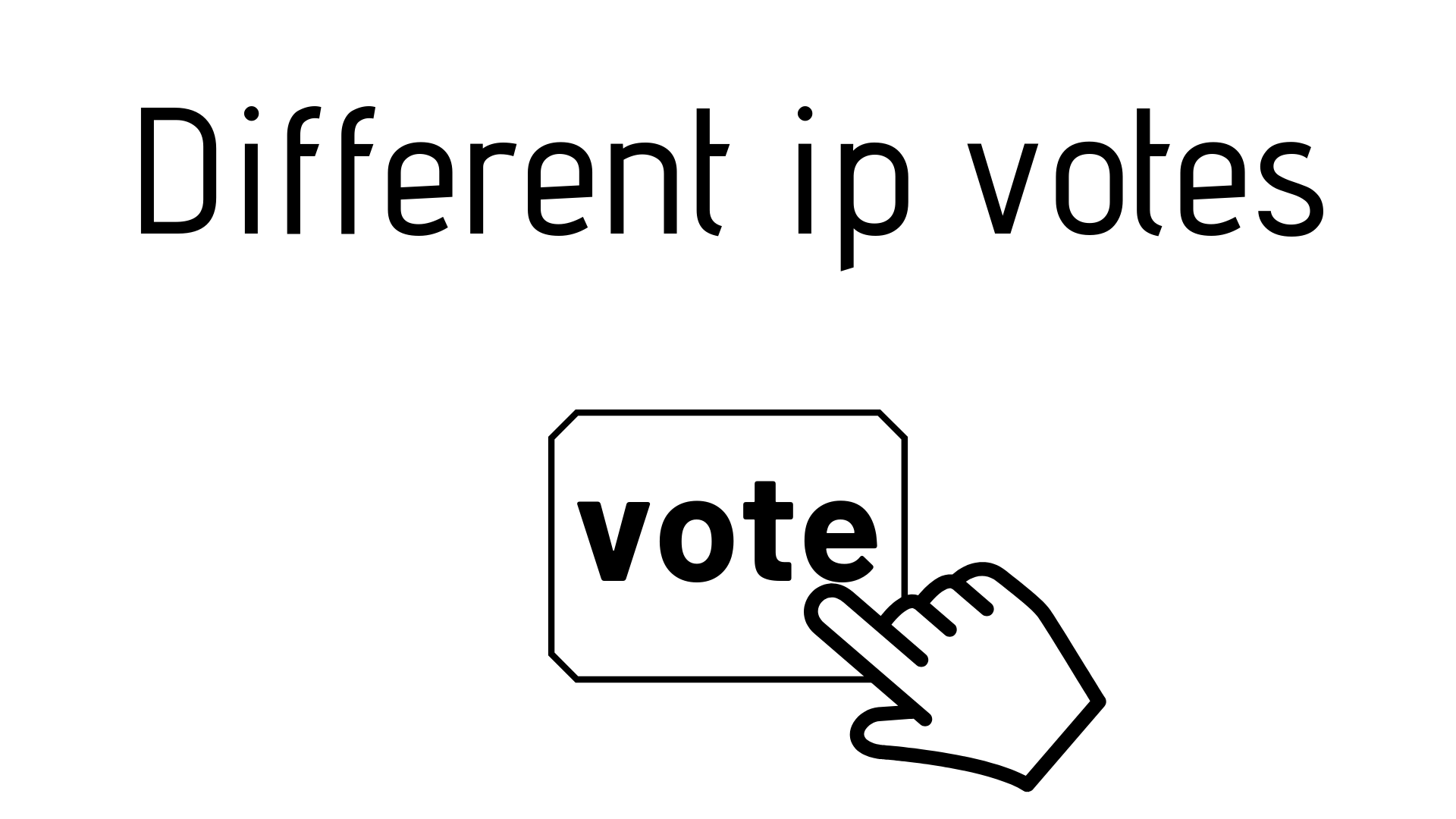 get 100 Real online voting contest votes