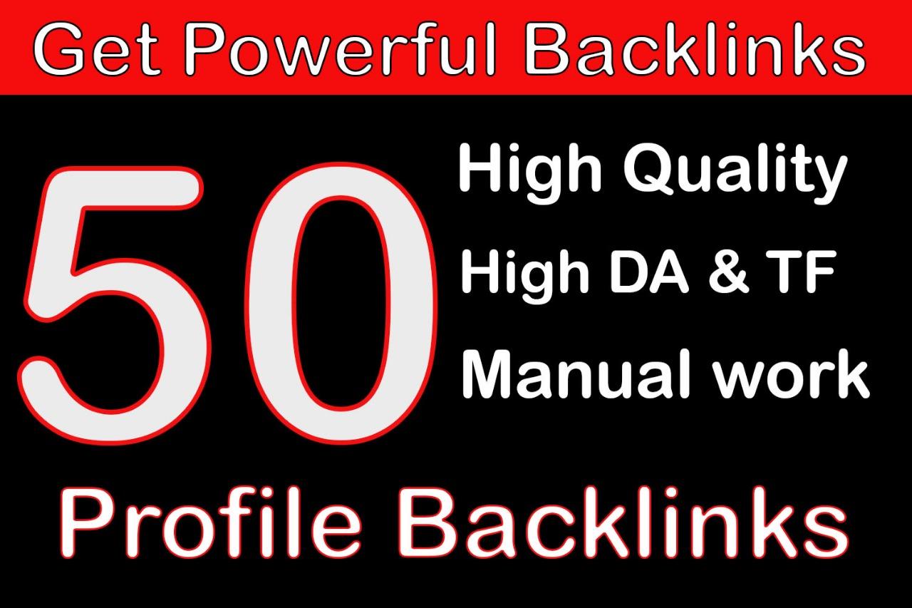 Limited offer:- 50 Manual Backlinks || DA +80 Save method for Alexa Rank