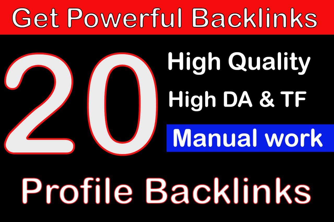 Limited offer -20 Manual Backlinks DA +80 Save method for Alexa Rank